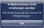 Mailing-Probleme